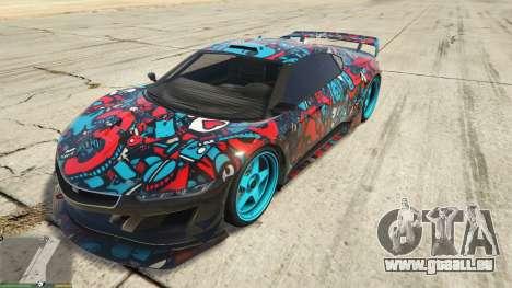 Dinka Jester (Rennwagen) Sticker Bombing для GTA für GTA 5
