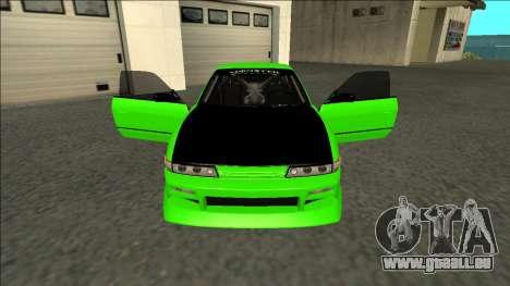 Nissan Silvia S13 Drift Monster Energy pour GTA San Andreas vue intérieure