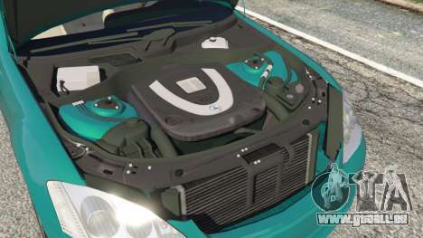 GTA 5 Mercedes-Benz S550 W221 v0.4.2 [Alpha] droite vue latérale