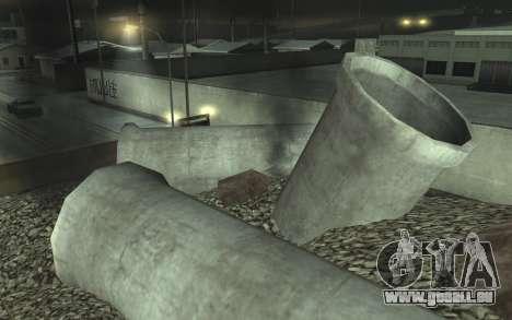 Straßen-Reparatur v2.0 für GTA San Andreas siebten Screenshot