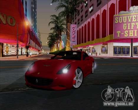 Vitesse ENB V1.1 Low PC pour GTA San Andreas septième écran