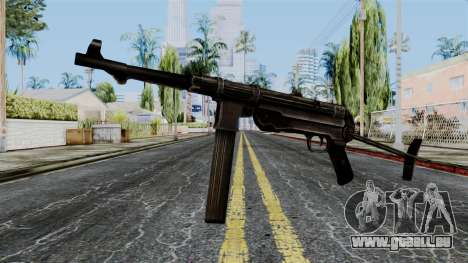 MP40 from Battlefield 1942 pour GTA San Andreas