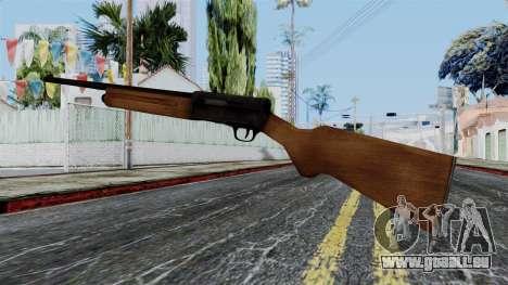 Browning Auto-5 from Battlefield 1942 pour GTA San Andreas deuxième écran