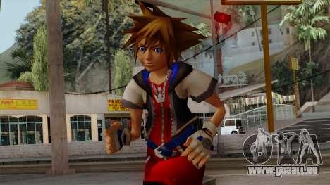 Kingdom Hearts 2 - Sora KH1 Costume für GTA San Andreas