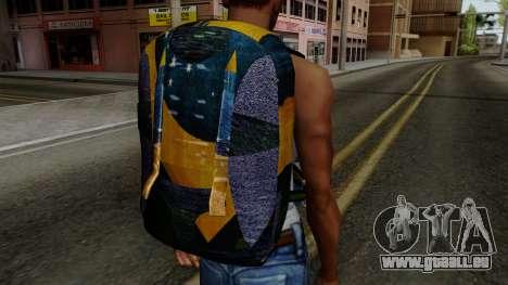 Brasileiro Parachute v2 für GTA San Andreas dritten Screenshot