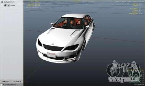 GTA 5 BMW M3 E92 Performance Kit [Beta] 0.1 droite vue latérale