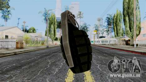 US Grenade from Battlefield 1942 für GTA San Andreas