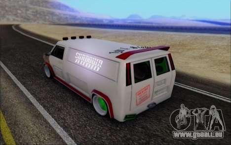 Burrito So Low pour GTA San Andreas laissé vue