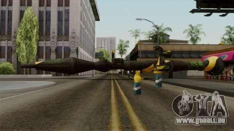 Brasileiro Rocket Launcher v2 für GTA San Andreas zweiten Screenshot