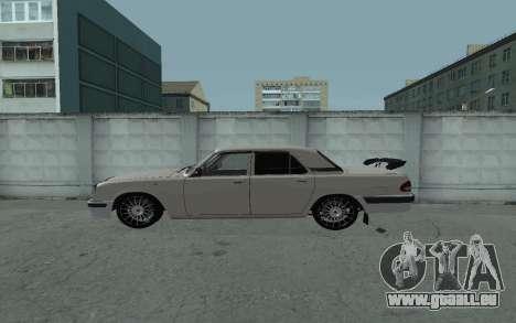 GAZ 31105 Volga für GTA San Andreas linke Ansicht