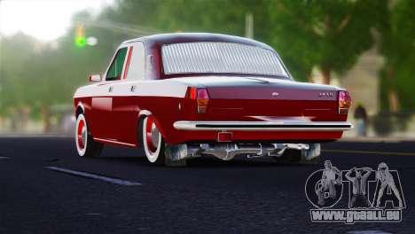 GAZ Volga 2401 tuning pour GTA 4 Vue arrière de la gauche