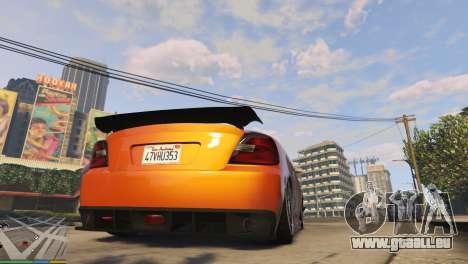 GTA 5 Air suspension v1.0 troisième capture d'écran