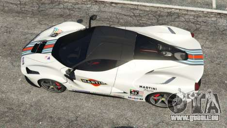 GTA 5 Ferrari LaFerrari 2013 v2.0 vue arrière