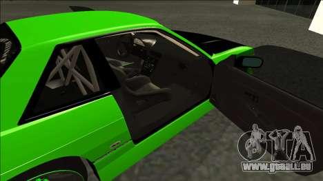 Nissan Silvia S13 Drift Monster Energy pour GTA San Andreas sur la vue arrière gauche