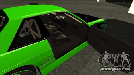 Nissan Silvia S13 Drift Monster Energy für GTA San Andreas zurück linke Ansicht