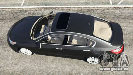 GTA 5 Honda Accord 2015 Rückansicht