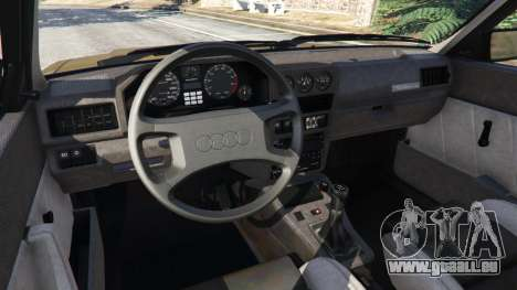 Audi Sport quattro v1.3 pour GTA 5