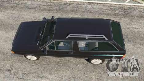GTA 5 Volkswagen Parati Surf Rückansicht