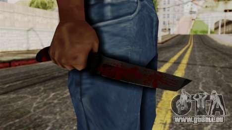 Nouveau couteau ensanglanté pour GTA San Andreas troisième écran