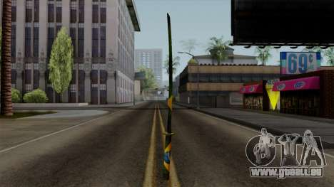 Brasileiro Katana v2 pour GTA San Andreas troisième écran