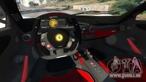 GTA 5 Ferrari LaFerrari 2013 v2.0 droite vue latérale