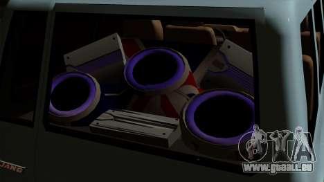 Toyota Kijang Grand Ext für GTA San Andreas Rückansicht