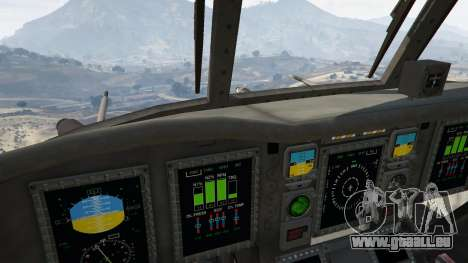 GTA 5 MH-47G Chinook fünfter Screenshot