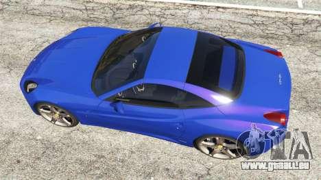 GTA 5 Ferrari California (F149) 2012 [Beta] vue arrière