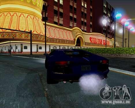 Vitesse ENB V1.1 Low PC pour GTA San Andreas sixième écran