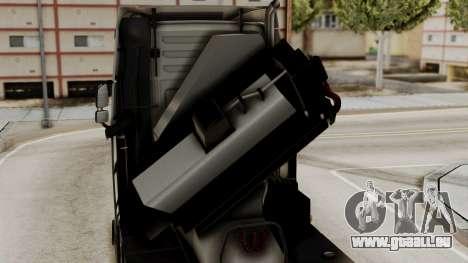 Volvo FH Euro 6 10x4 High Cab für GTA San Andreas Rückansicht