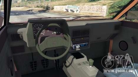 GTA 5 Volkswagen Saveiro Cli 1.6 [Edit] rechte Seitenansicht