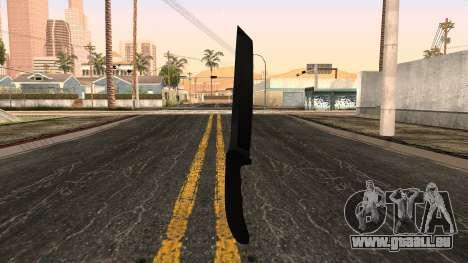 Neue Messer für GTA San Andreas zweiten Screenshot
