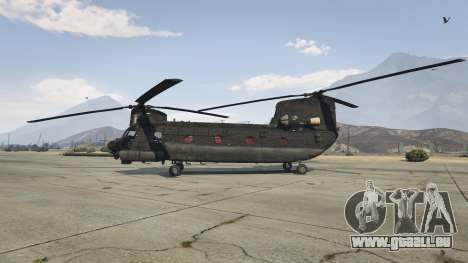 MH-47G Chinook pour GTA 5