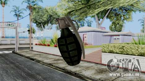 US Grenade from Battlefield 1942 für GTA San Andreas dritten Screenshot