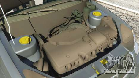 GTA 5 VAZ-Lada 2170 Priora droite vue latérale