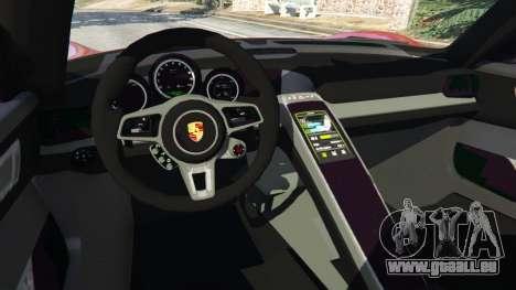 Porsche 918 Spyder 2013 für GTA 5