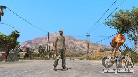 GTA 5 Tomahawk de Dead Rising 2
