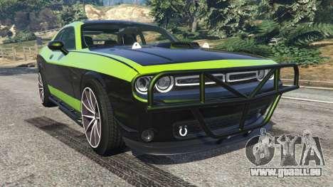 Dodge Challenger 2015 Shaker Furious 7 für GTA 5