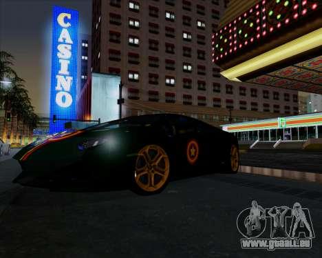 Vitesse ENB V1.1 Low PC pour GTA San Andreas deuxième écran