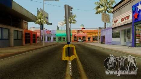 Kingdom Hearts - The Kingdom Key pour GTA San Andreas deuxième écran