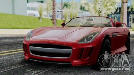 GTA 5 Benefactor Surano v2 IVF für GTA San Andreas