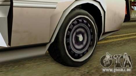Derby-Clover Beta v1 pour GTA San Andreas sur la vue arrière gauche