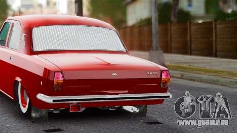 GAZ Volga 2401 tuning pour GTA 4 est un droit