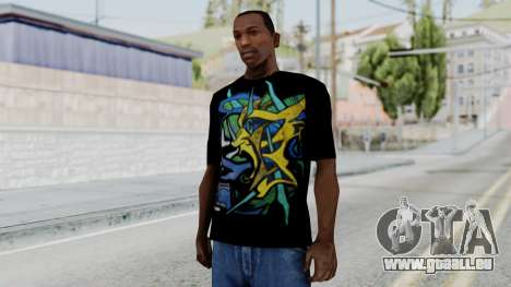 T-shirt from Jeff Hardy v1 für GTA San Andreas
