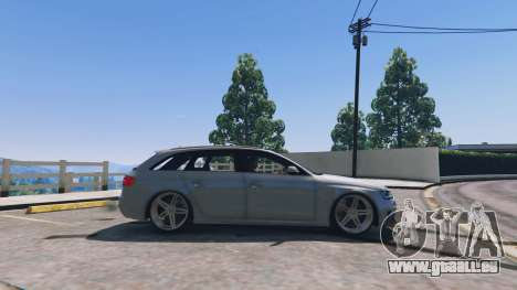 GTA 5 Audi RS4 Avant v1.1 linke Seitenansicht