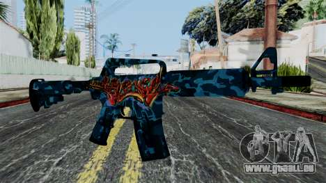 M4A1-S Master Piese pour GTA San Andreas