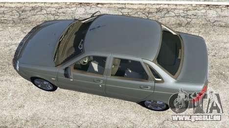 GTA 5 VAZ-Lada 2170 Priora vue arrière