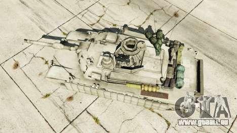 GTA 5 M1A2 Abrams v1.1 Rückansicht