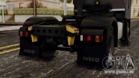 Iveco EuroStar Low Cab pour GTA San Andreas vue de dessus