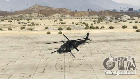 GTA 5 MH-60L Black Hawk quatrième capture d'écran